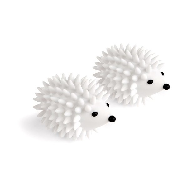 Kikkerland Hedgehog Dryer Balls, Set of 2