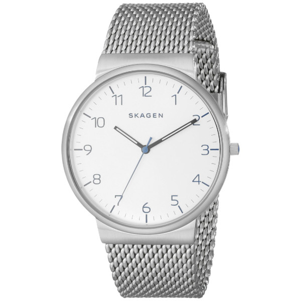 Skagen Men's SKW6163 Ancher Analog Display Analog Quartz Silver Watch