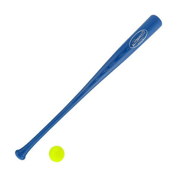 Blitzball Plastic Baseball and Bat and Ball Combo Set