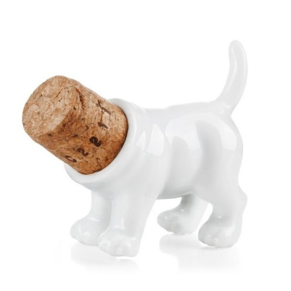 Rufus the Dog Bottle Stopper