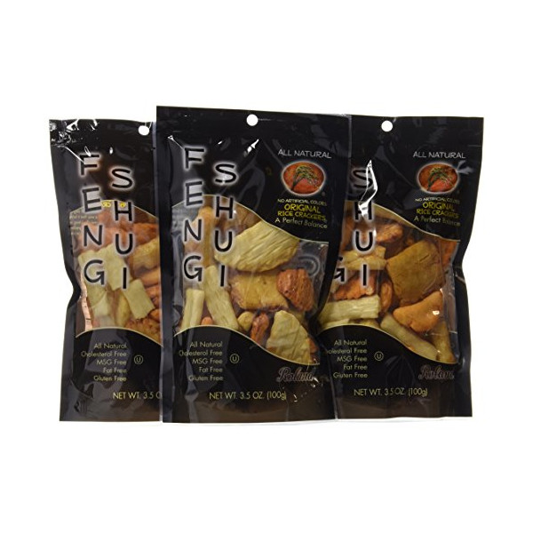 Feng Shui Original Rice Crackers, 3.5-Ounce (Pack of 12)