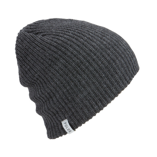 Poler Tube City Beanie, Charcoal