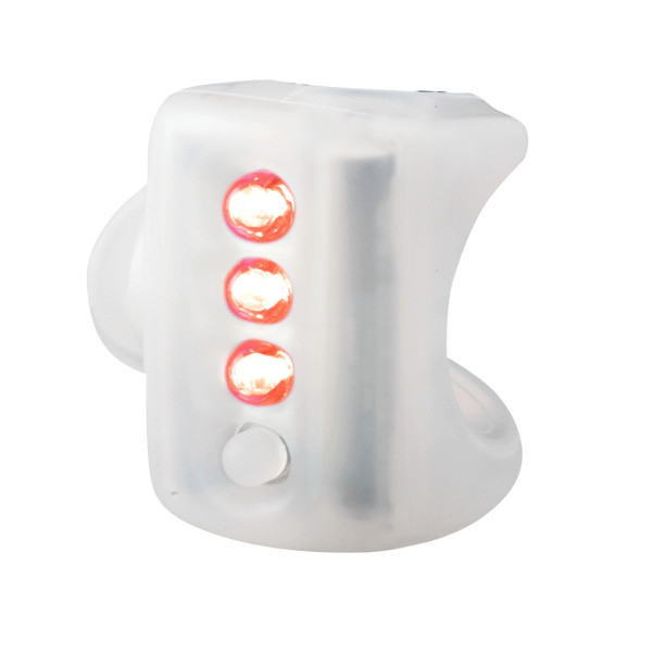 Knog Gekko 3-LED Bicycle Light (Taillight, Translucent)