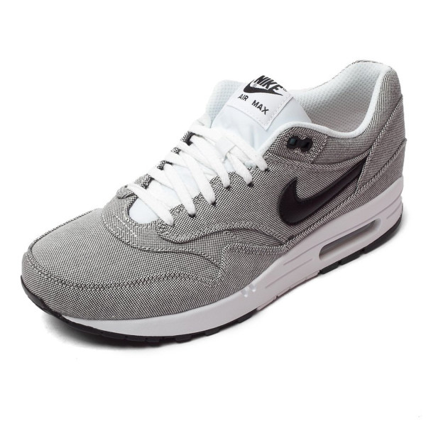 Nike Air Max 1 Premium - White / Black, 12 D US