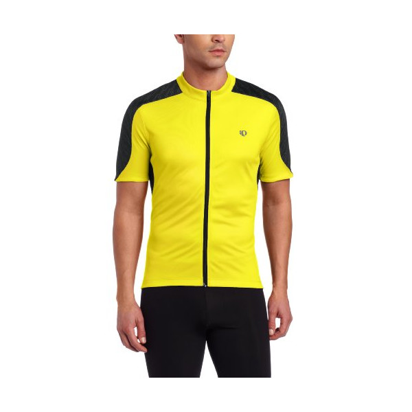 Pearl Izumi Men's Attack Jersey, Screaming Yellow/Black, Medium