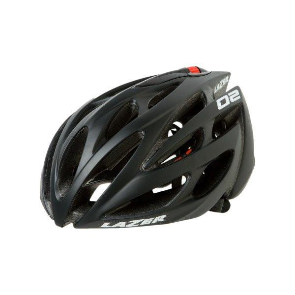 2009 Lazer 02 Road Matte Black Unisize Helmet
