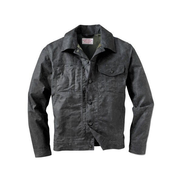 Filson Short Lined Cruiser Jacket - Men's Black/Dark Green, M