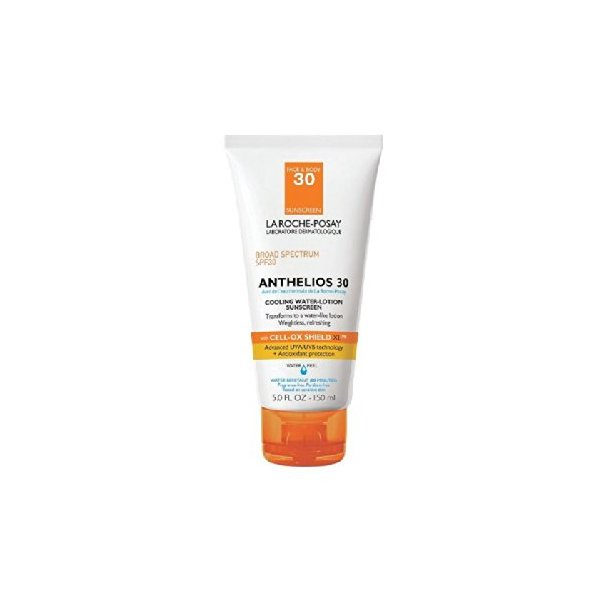 La Roche Posay Anthelios 30 Cooling Water Lotion Sunscreen, 5.0 Fluid Ounce