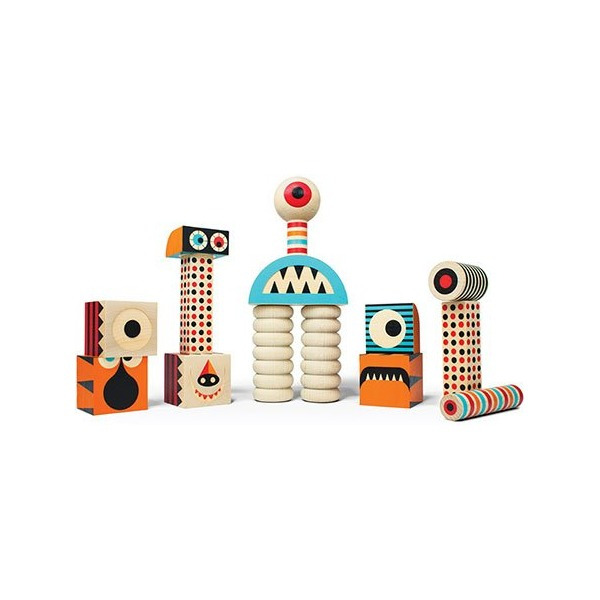Stack and Scare! Stackable Monster Block Set Two