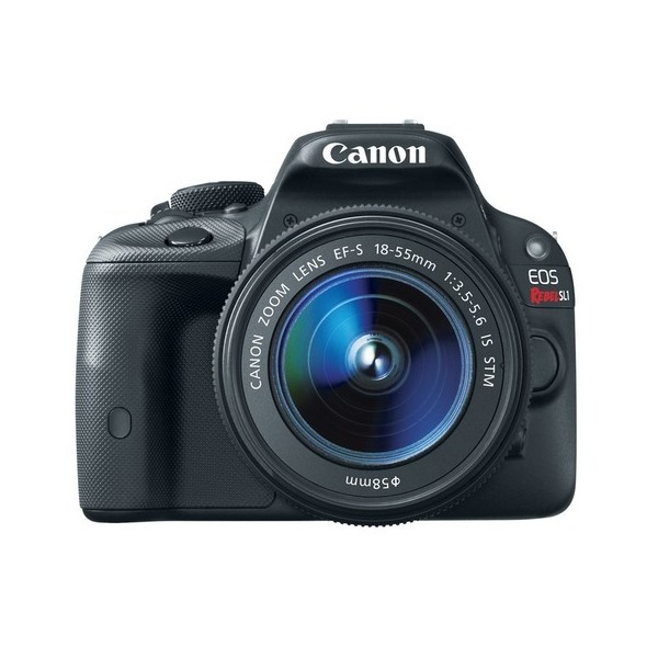 Canon EOS Rebel SL1 18.0 MP CMOS Digital SLR with 18-55mm EF-S IS STM Lens