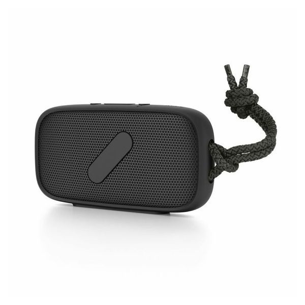 NudeAudio Super-M Portable Wireless Bluetooth Speaker; Black; IPX-5 Waterproof and Sand Proof Rating; High Quality Hand Free Phone Audio; Apple MacBook, iPhone 5, 6 and Samsung Galaxy, Android Compatible; 100% Money Back Guarantee