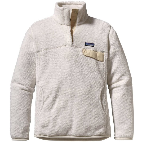 Patagonia Re-Tool Snap-T - Women's, Raw Linen - White X-Dye, M