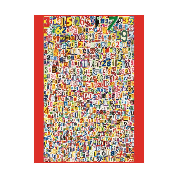Andrews + Blaine Ltd The Number PI - 1,000 Pc Puzzle