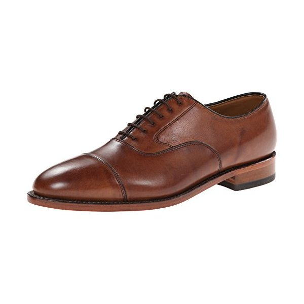 Johnston & Murphy Men's Melton Oxford, Tan, 10.5 D US