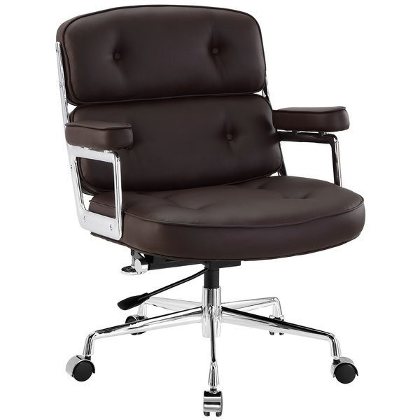LexMod Remix Deluxe Vinyl Executive Office Chair
