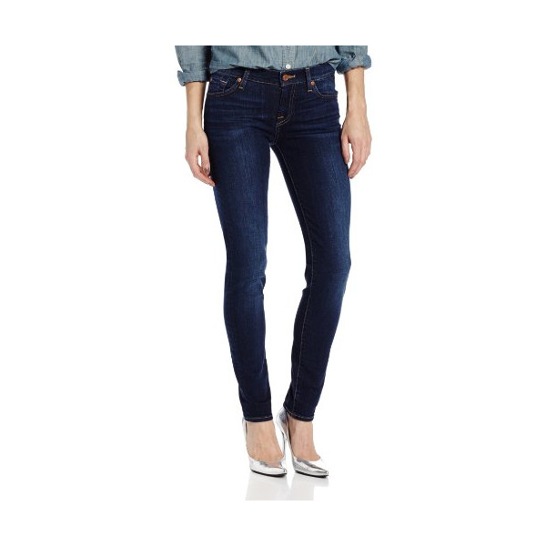 7 For All Mankind Women's Slim Cigarette Jean in Camilo Blue