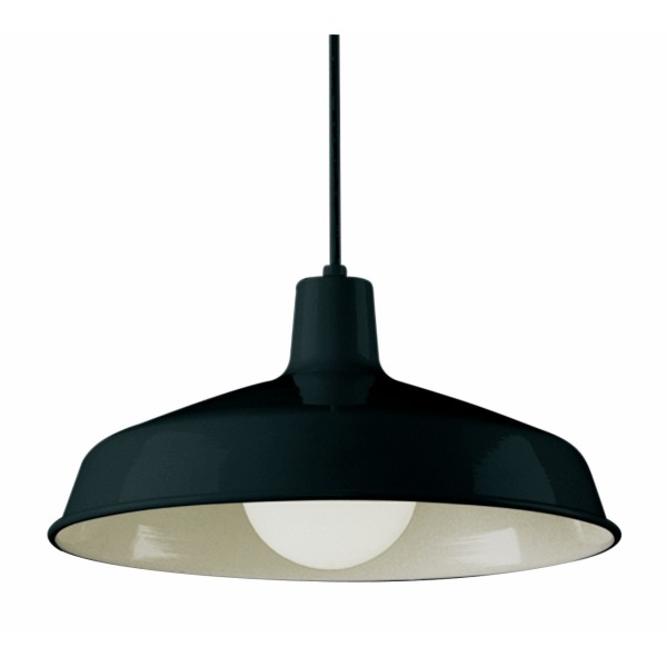 Bel Air Lighting 1100 BK 1-Light Pendant