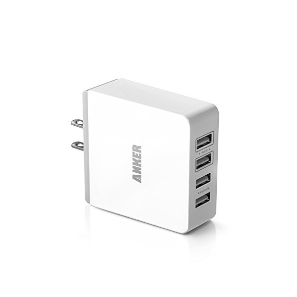 Anker® 36W 4-Port USB Wall Charger