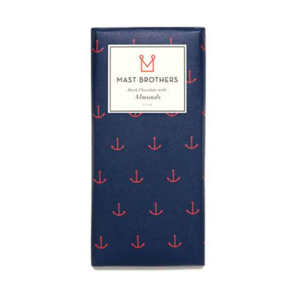 Sur La Table Mast Brothers Dark Chocolate Almond Bar