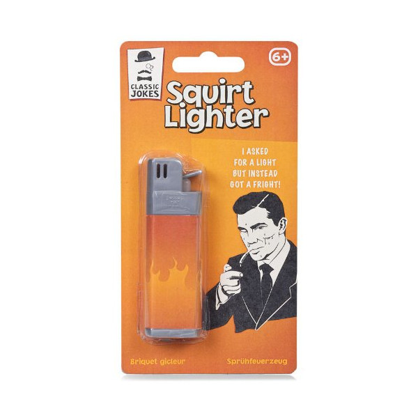 Classic Jokes Squirt Lighter Practical Joke Novelty Gift