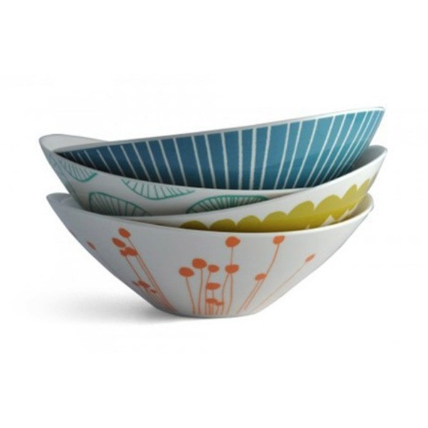 Lotta Jansdotter Small Bowls, Set of 4 - $48 on Amazon