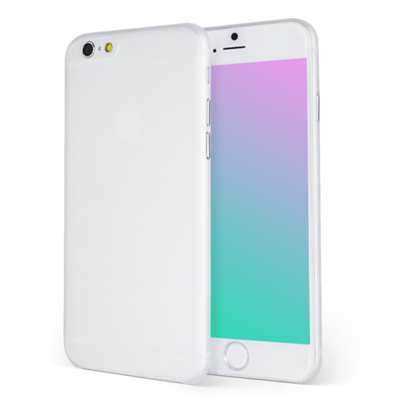 The Scarf Thin Case for iPhone 6, Transparent White