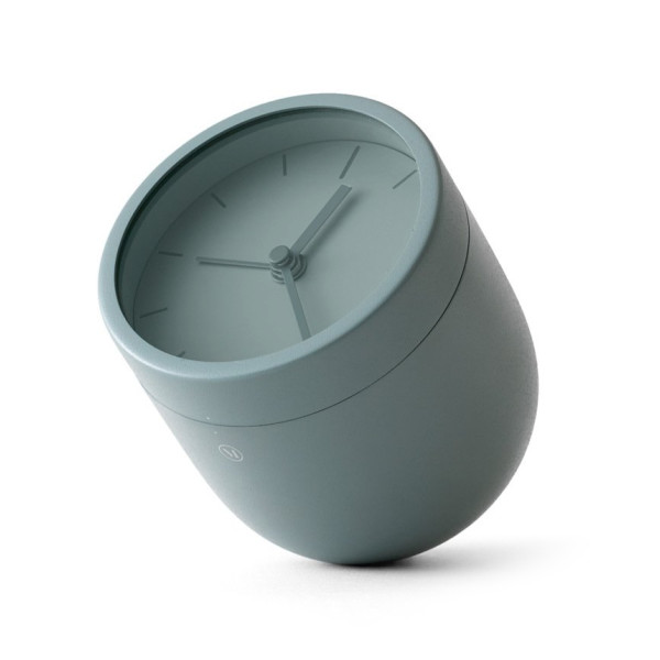 Menu Tumbler Alarm Clock Moss Green