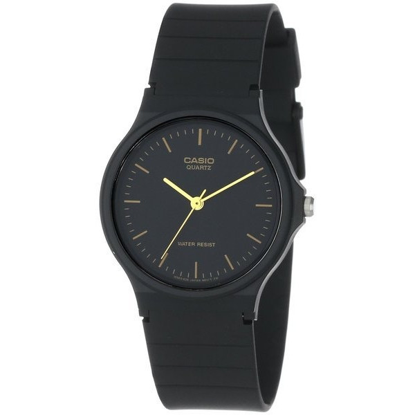 Casio Men's Black Resin Analog Watch