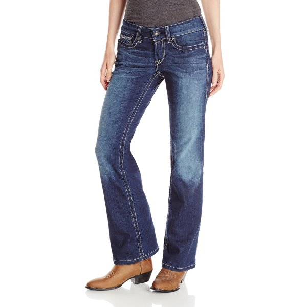 Ariat Women's Real Riding Boot Cut Jean, Spitfire, 26x31