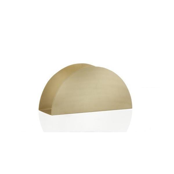 FERM LIVING 4113 Brass Series - Brass Semicircle Stand W: 30 x H: 15 x D: 10 cm
