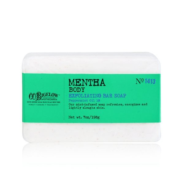 CO Bigelow Mentha Exfoliating Bar Soap, 7 Oz