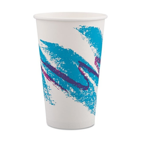 Solo Jazz 12 oz. Paper Cup, Pack of 2000