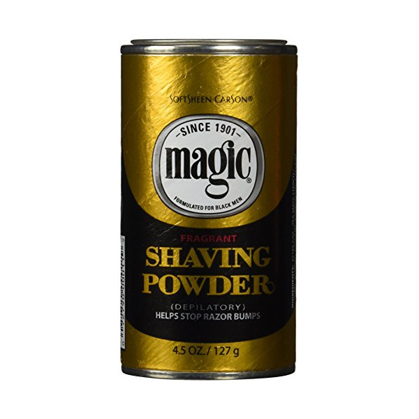 Magic Shave Shaving Powder Gold - 4.5 oz