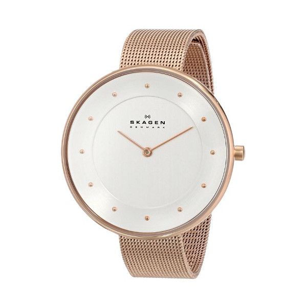 "Skagen Women's SKW2142 ""Gitte"" Stainless Steel Rose-Gold Watch"