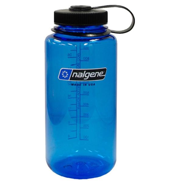 Nalgene Tritan Wide Mouth Water Bottle, 32oz - Blue
