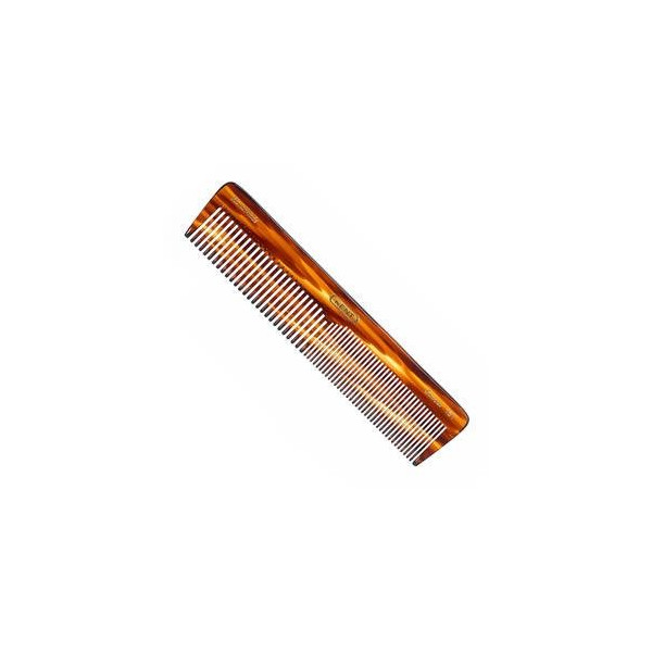 Kent Hand-Made 188m Large Size, Coarse/Fine Dressing Table Comb - 16T