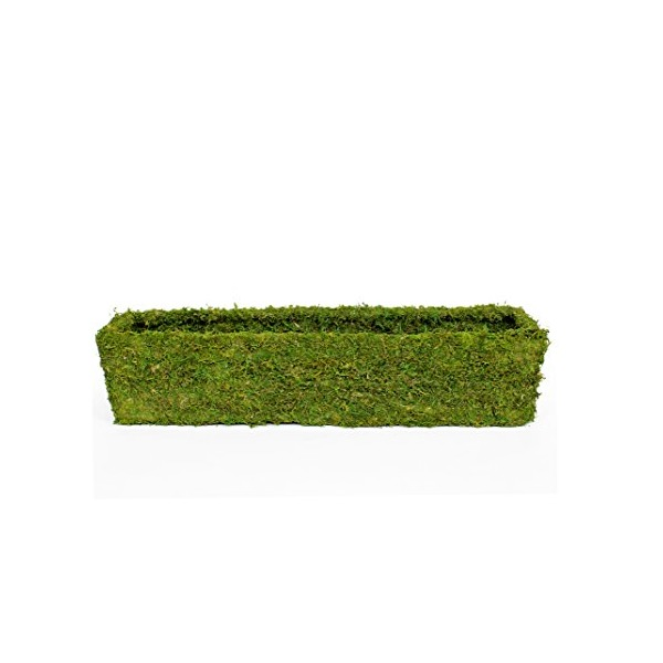 SuperMoss (29365) MossWeave Window Box Planter, Fresh Green, 36""