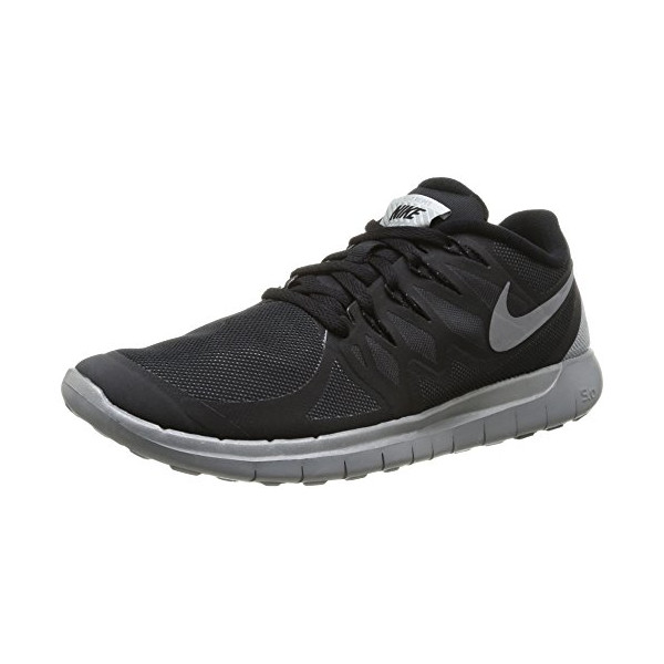 Nike Men's Free 5.0 Flash Black/Reflect Silver/Wolf Grey Running Shoe 11 Men US