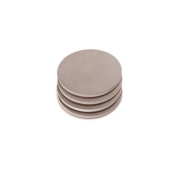 Culinarium - Round concrete coaster - gray