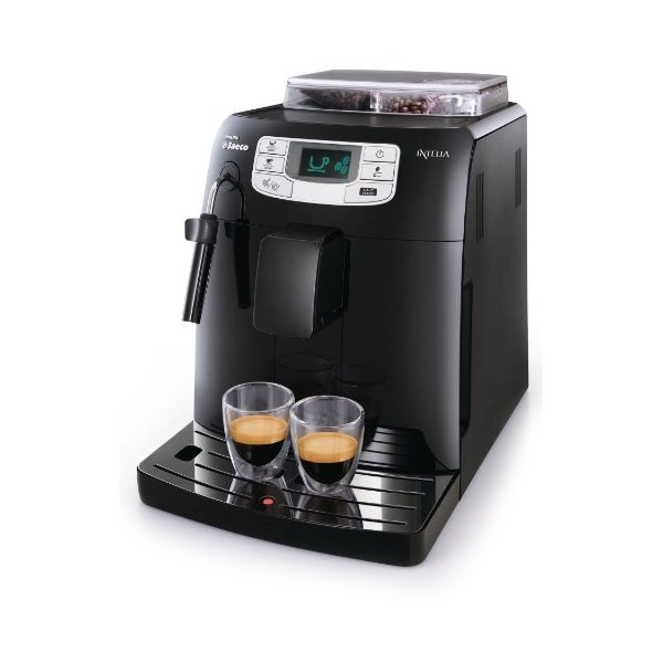 Machine à Café Espresso Saeco Intelia Automatique HD8751/11 Philips