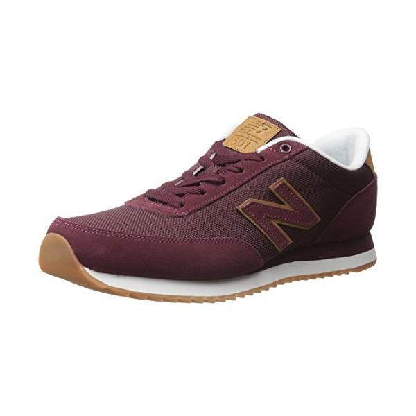 New Balance Men's MZ501 Ripple Sole Pack Classic Running Shoe, Burgundy, 8.5 D US