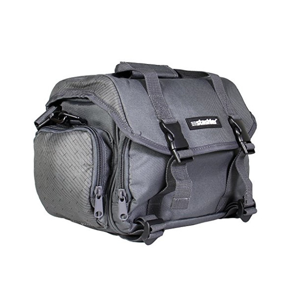 Stashler DSLR Camera Shoulder Bag Charcoal