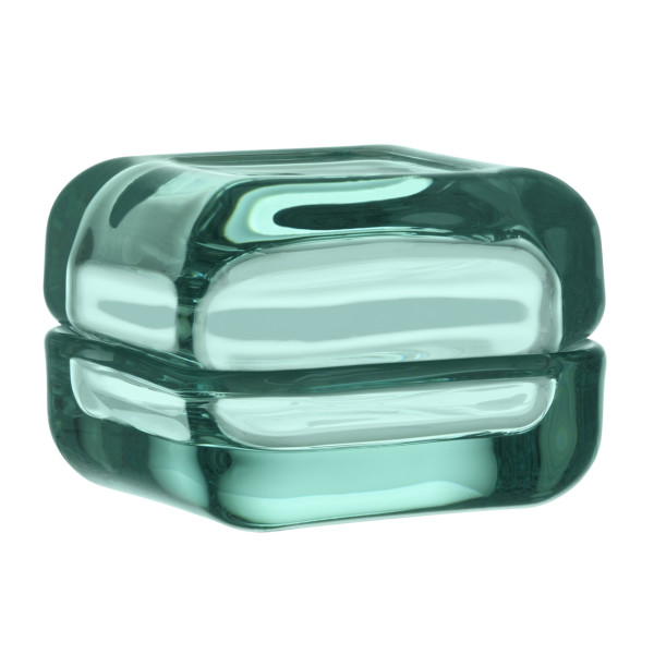 Iittala Vitriini Small Box, Water Green
