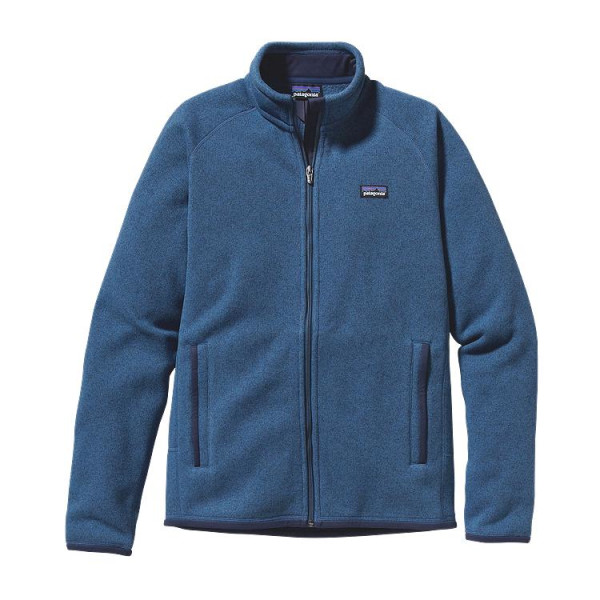 Patagonia Better Sweater Full Zip Mens Jacket, Glass Blue