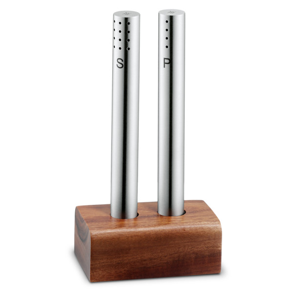 WMF Stainless Steel Salt and Pepper Shaker Set