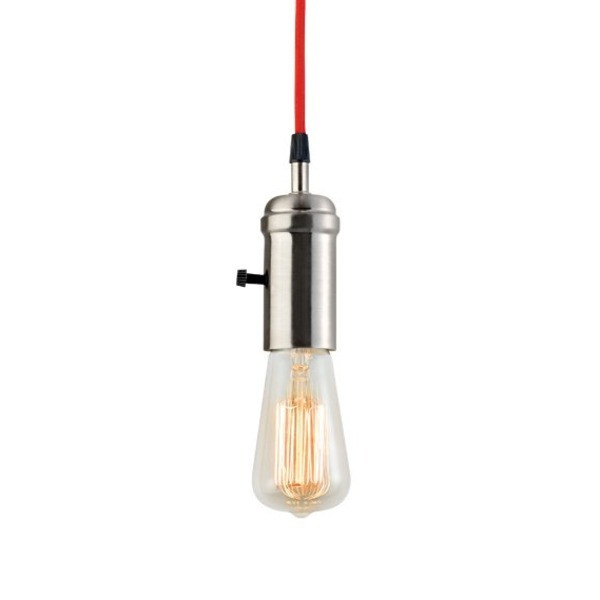 Globe Electric Vintage Hanging Pendant Light Fixture