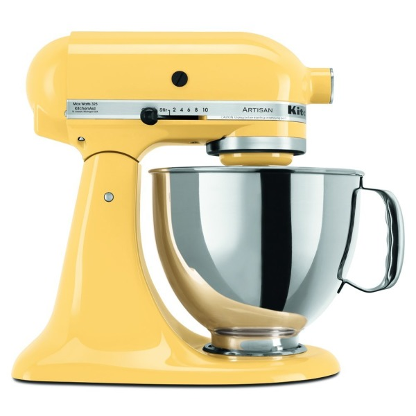 5-Qt. Stand Mixer with Pouring Shield - Majestic Yellow