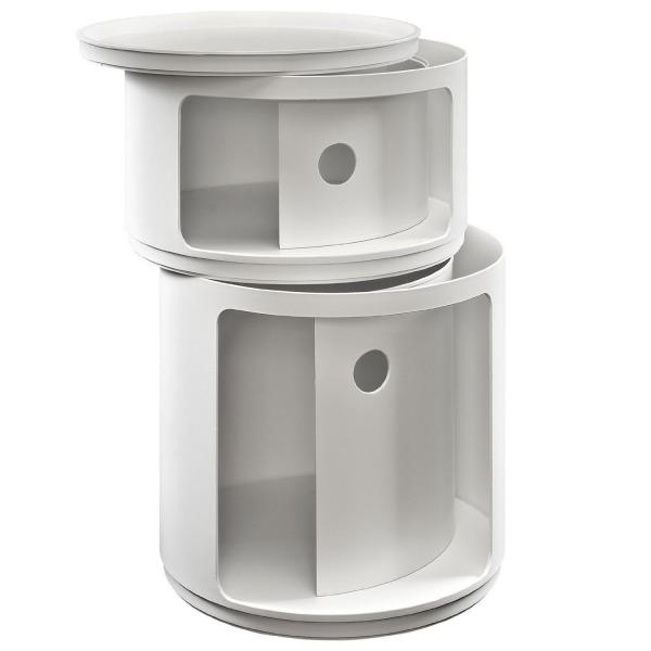 LexMod Orbit Modern Storage Module, White