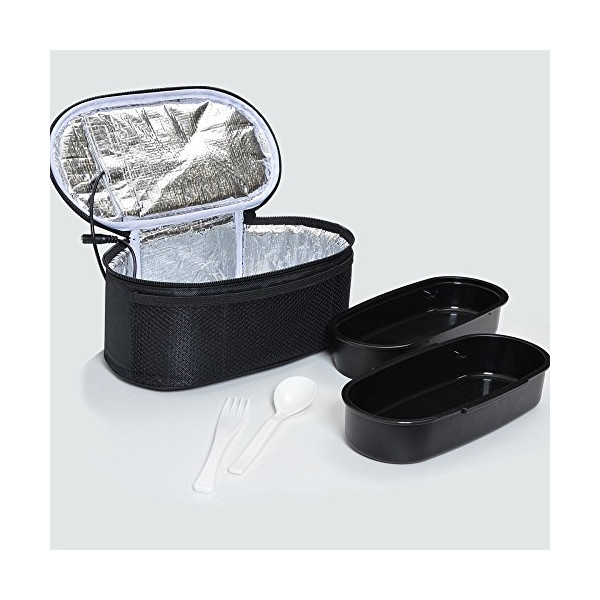 USB Double Heater Pouch with Lunch-box Bento USBLUCH7