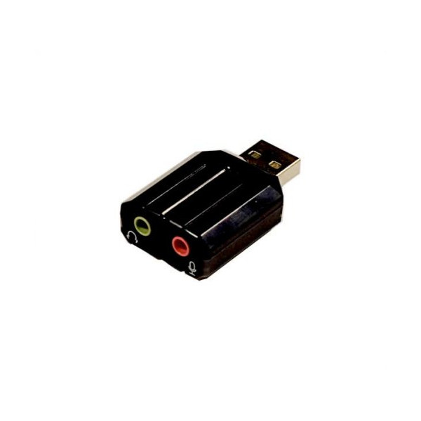 Syba SD-CM-UAUD USB Stereo Audio Adapter, C-Media Chipset, RoHS